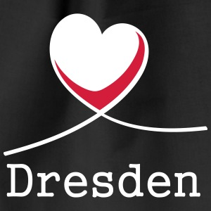 I love Dresden! - Drawstring Bag