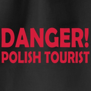 polish tourist - Drawstring Bag