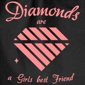 Diamanter er en Girls Best Friend - Gymbag
