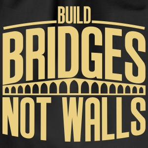 build bridges - Turnbeutel