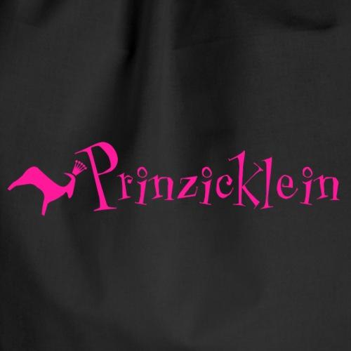 Prinzicklein: Mädchenshirt mit Charakterstärke - Turnbeutel