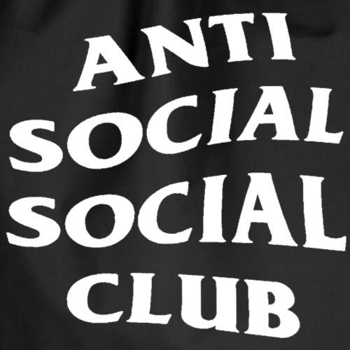 Anti social social club - Gymnastikpåse