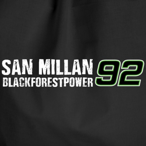 San Millan Blackforestpower 92 - Turnbeutel