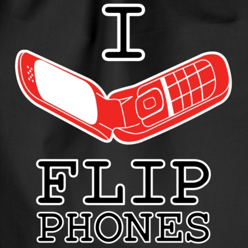 Flip Phone Lover - Turnbeutel