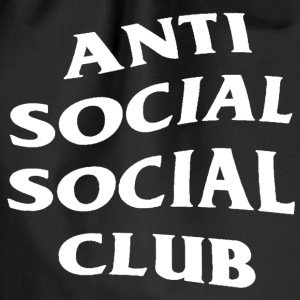 Anti social social club - Gymnastikpåse