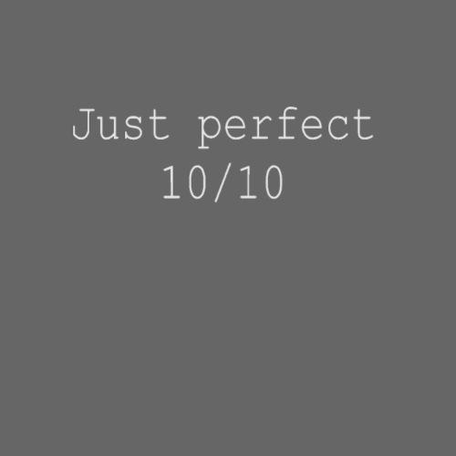 Just perfect white einseitig