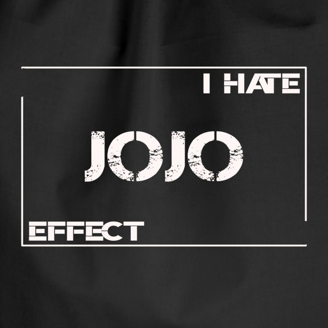 I hate JOJO Effect