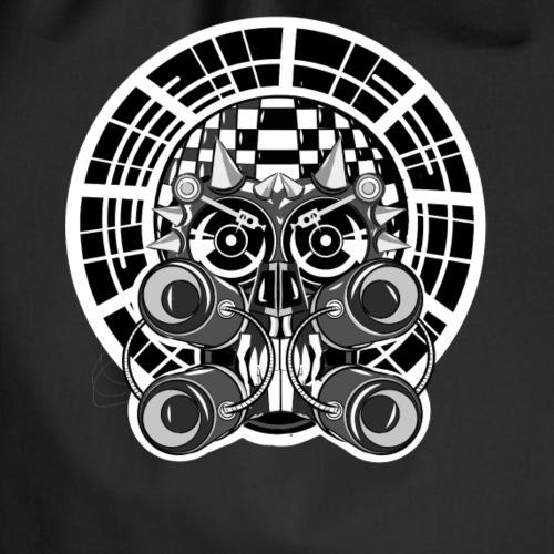 Tekno conspiracy ravewear head