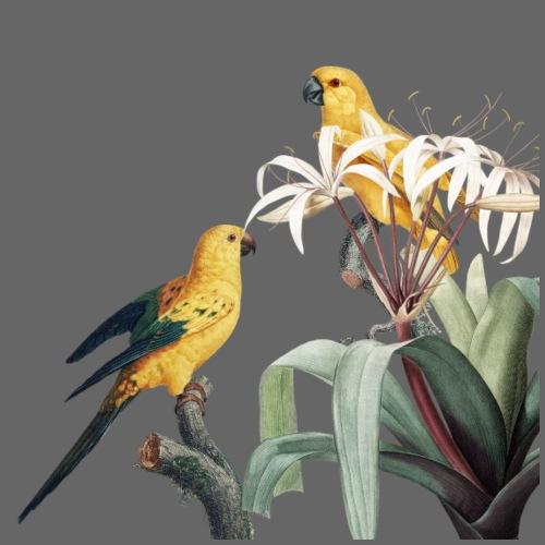 Bird yellow - Turnbeutel