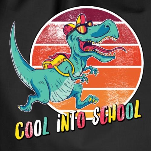 Cool into School T-Rex Einschulung Sonnenbrille - Turnbeutel