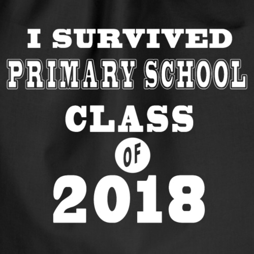 I survived primary school class of 2018! - Turnbeutel