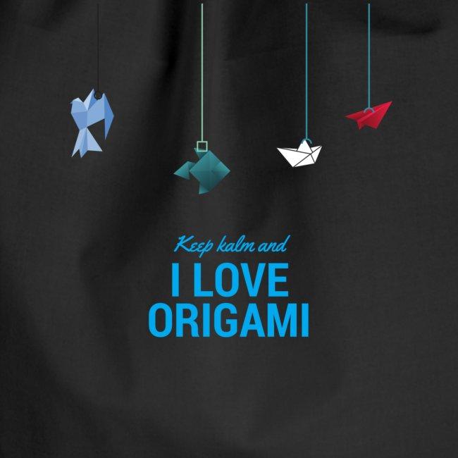 keep kalm and love origami versione estate
