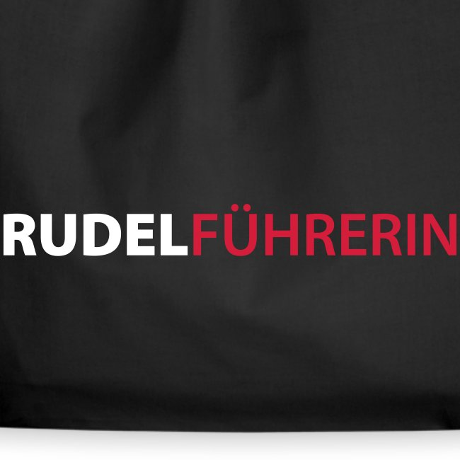 Vorschau: Rudelführerin - Turnbeutel