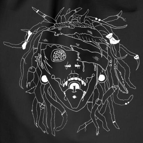 Voodo Schamanin - Turnbeutel