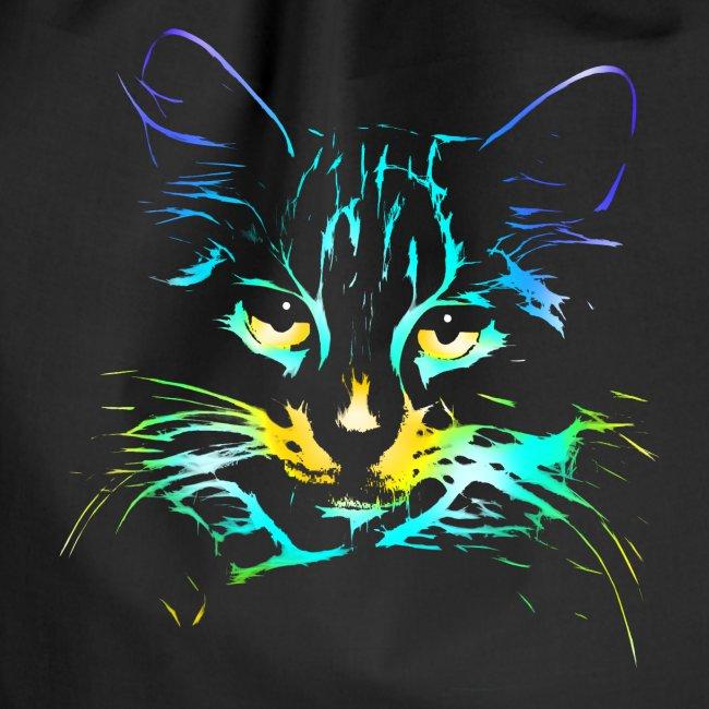 Vorschau: color kitty - Turnbeutel