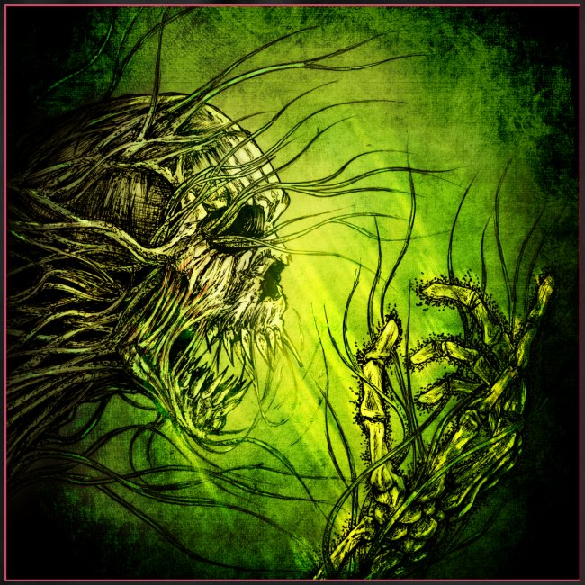 death in green