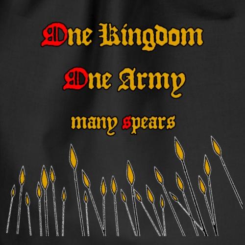Ein Königreich, eine Armee! - SONDERPREIS! - Turnbeutel