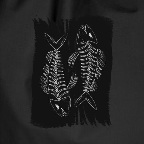Dark Fish [Social Acid] - Drawstring Bag