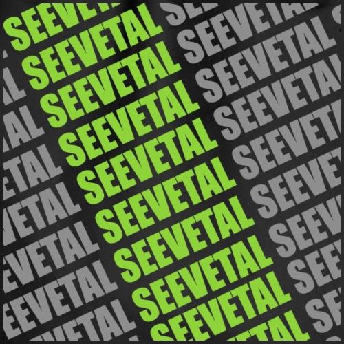 Seevetal Schriftzug Grün - Turnbeutel