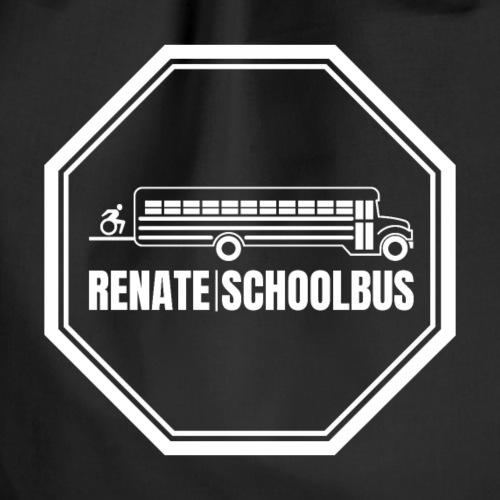 Logo RENATESCHOOLBUS - Turnbeutel