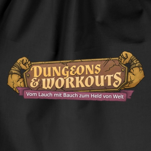 Dungeons and Workouts Logo - Turnbeutel