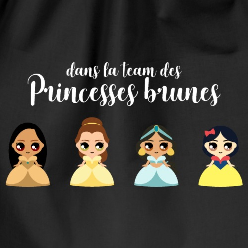 Team princesses brunes - Sac de sport léger