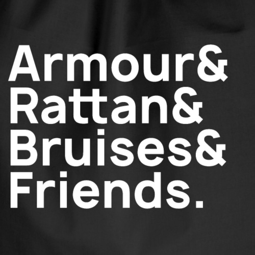 Armour & Rattan & Bruises & Friends - Turnbeutel