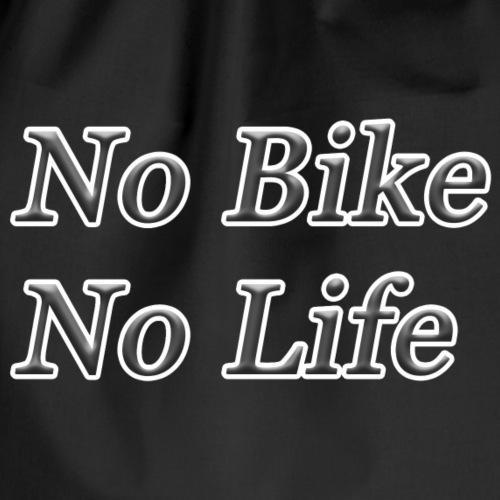 No Bike No Life - Gymnastikpåse