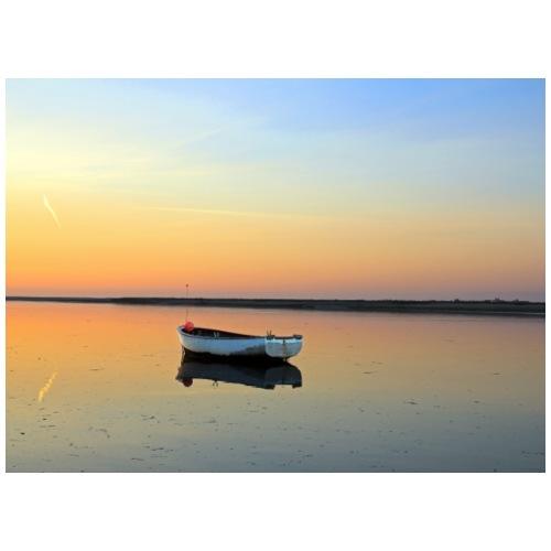 Coucher de soleil, Baie de Somme, France. - Sac de sport léger