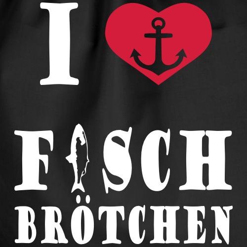 I LOVE FISCHBROT - Turnbeutel