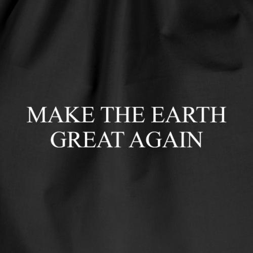 ECO - Make Earth Great Again - Drawstring Bag