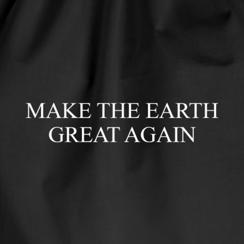 ECO - Make Earth Great Again - Drawstring Bag