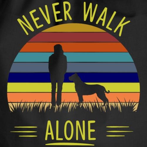 Never walk alone Presa - Turnbeutel
