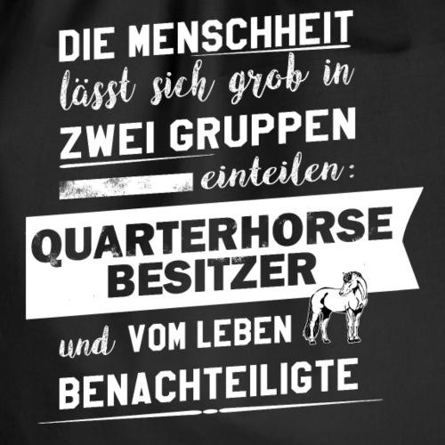 Quarterhorse-Besitzer - Turnbeutel