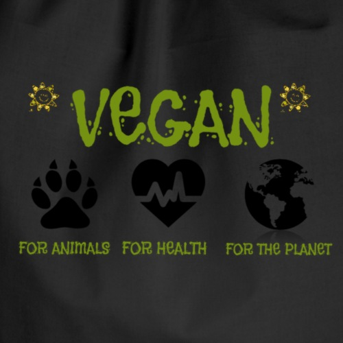 Vegan for animals, health and the environment.