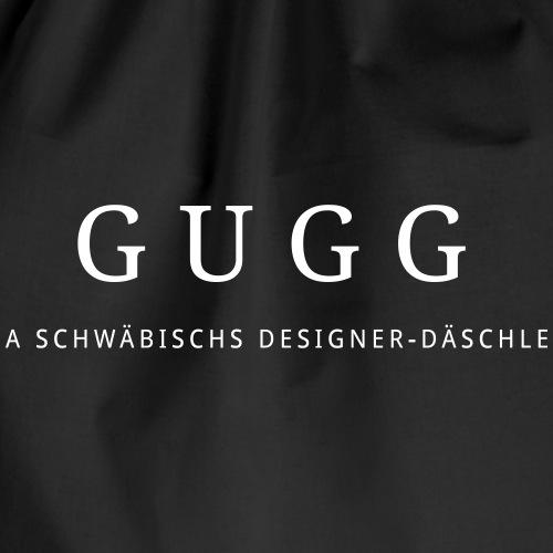 Schwäbisch Geschenk Tasche Gugg - Turnbeutel