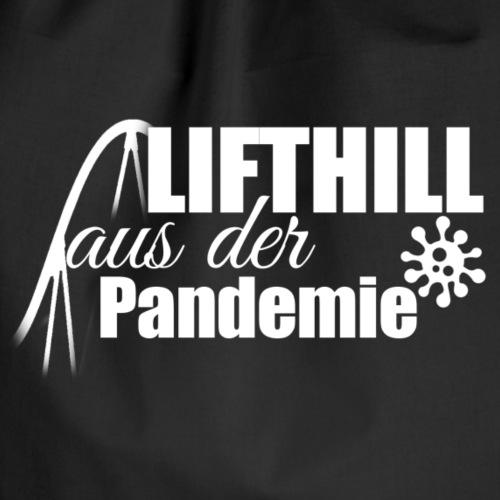 Lifthill aus der Pandemie Logo - Turnbeutel