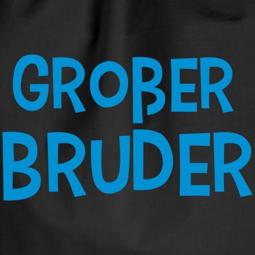 Großer Bruder Schriftzug - Turnbeutel