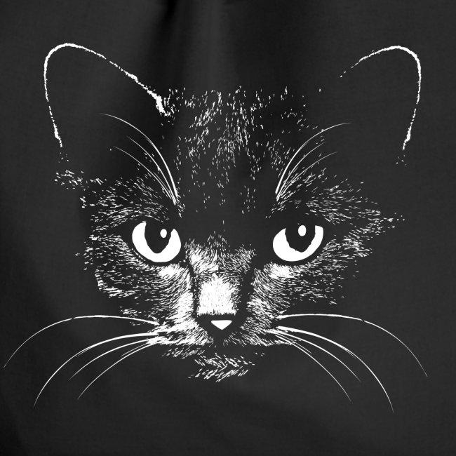 Vorschau: black cat - Turnbeutel