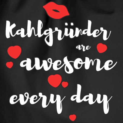 Kahlgründer Are Awesome Every Day - Turnbeutel