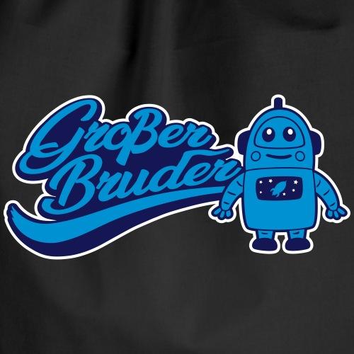 Großer Bruder Roboter - Turnbeutel