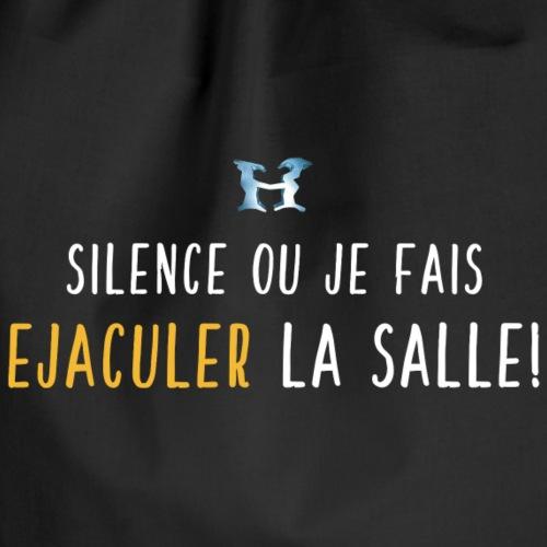 Ejaculer La Salle - Logo - Blanc Jaune - Sac de sport léger