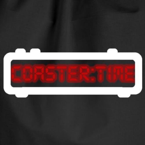 Coaster Time Weiss - ParkTube - Turnbeutel