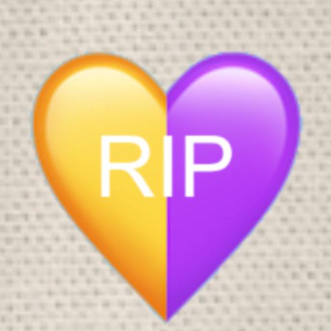 RIP Kobe Yellow / Purple Heart