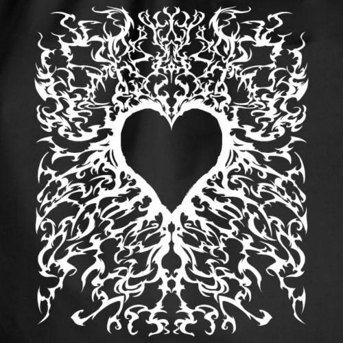 Metal Heart - Geschenk Valentinstag - Turnbeutel