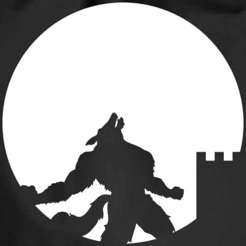 castle night wolf - Sacca sportiva