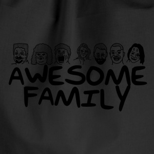 Awesome familie <3 - Sportstaske