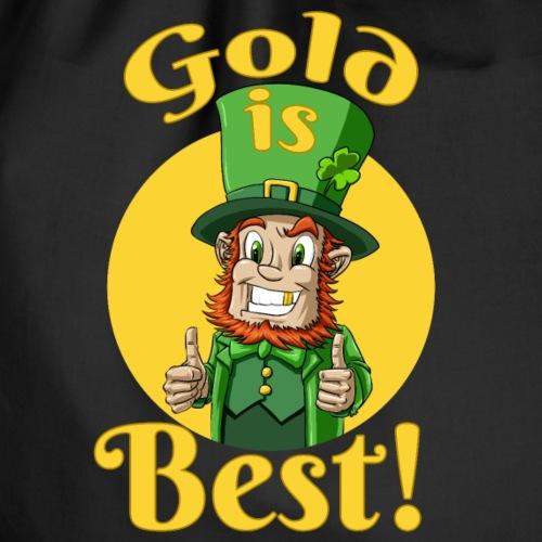 Gold is best! - Turnbeutel