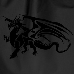 Black Dragon - TribalDragon - Gymbag