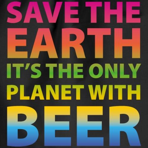 sauver la bière de la terre - Sac de sport léger